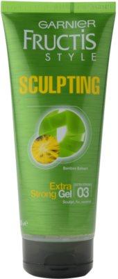 Garnier Fructis Style Sculpting gel para el cabello con extracto de bambú