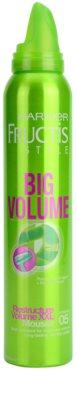 Garnier Fructis Style Big Volume пяна втвърдител за обем 1
