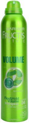 Garnier Fructis Style Volume лак для волосся для обьему 1