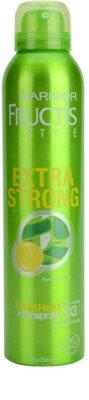 Garnier Fructis Style Extra Strong lak na vlasy s výtažkem z bambusu
