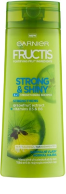 Garnier Fructis Strong & Shiny 2in1 sampon fortifiant pentru par normal