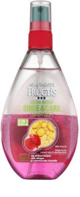Garnier Fructis Color Resist pielęgnacja bez spłukiwania do włosów farbowanych
