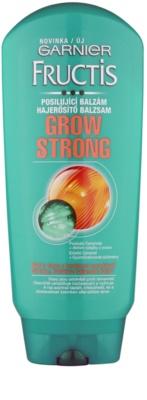 Garnier Fructis Grow Strong balsam fortifiant pentru par slab