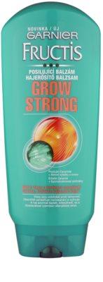Garnier Fructis Grow Strong подсилващ балсам за слаба коса