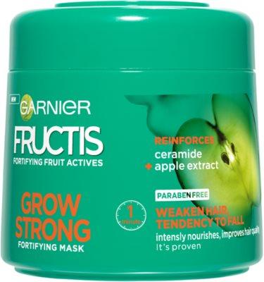 Garnier Fructis Grow Strong máscara fortificante para cabelo fraco
