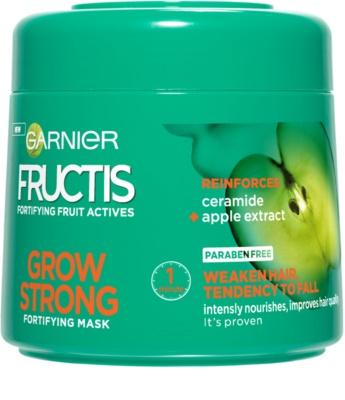 Garnier Fructis Grow Strong maska za okrepitev las za šibke lase