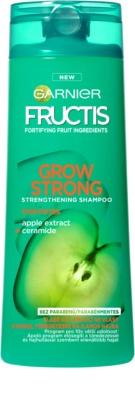 Garnier Fructis Grow Strong подсилващ шампоан за слаба коса