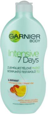 Garnier Intensive 7 Days zklidňující tělové mléko s mangovým olejem