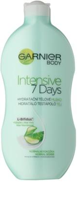 Garnier Intensive 7 Days хидратиращо мляко за тяло с алое вера