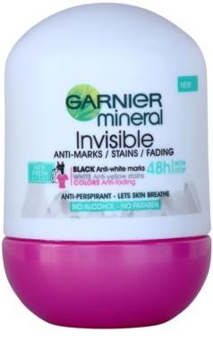 Garnier Mineral Invisible antitranspirante roll-on