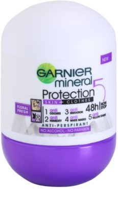 Garnier Mineral 5 Protection antiperspirant roll-on