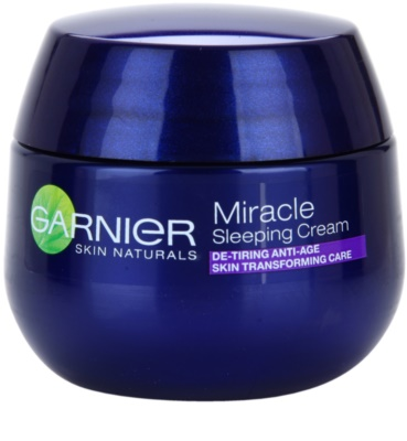 Garnier Miracle transformierende Nachtpflege gegen Hautalterung
