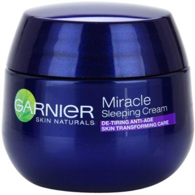 Garnier Miracle Tratament de noapte pentru ingrijire impotriva imbatranirii pielii