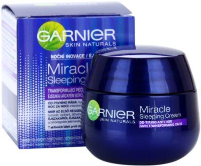 Garnier Miracle noční transformující péče proti stárnutí pleti 3