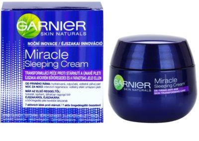 Garnier Miracle noční transformující péče proti stárnutí pleti 4
