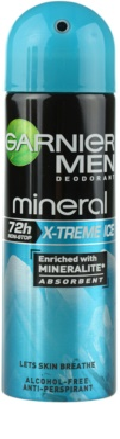 Garnier Men Mineral X-treme Ice antitranspirante en spray