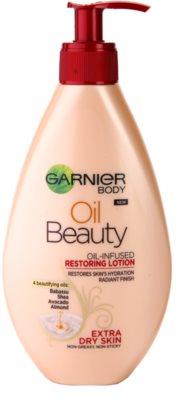 Garnier Oil Beauty regeneračné olejové mlieko