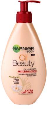 Garnier Oil Beauty відновлююче молочко з олійкою