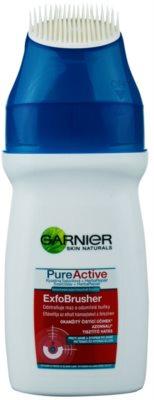 Garnier Pure Active gel limpiador con cepillo 1