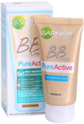 Garnier Pure Active BB krém a bőr tökéletlenségei ellen 2