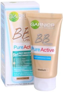 Garnier Pure Active BB крем проти недосконалостей шкіри 2