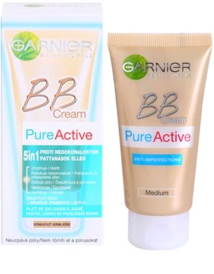Garnier Pure Active BB крем проти недосконалостей шкіри 1