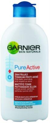 Garnier Pure Active очищуючий тонік для проблемної шкіри