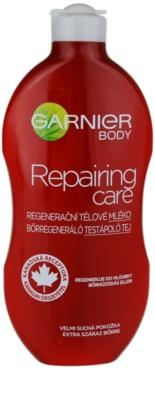 Garnier Repairing Care lapte de corp regenerator pentru piele foarte uscata