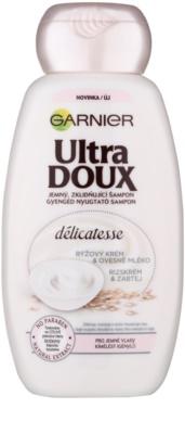 Garnier Ultra Doux champú calmante para cabello fino