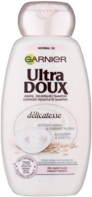 Garnier Ultra Doux kojący szampon do włosów delikatnych