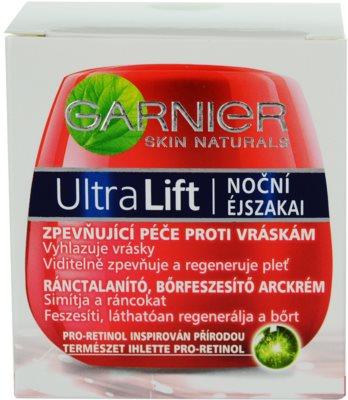 Garnier UltraLift Complete Beauty crema de noapte pentru fermitate antirid 2