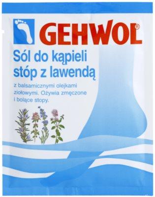 Gehwol Classic revitalizujúca rozmarínová soľ do kúpeľa