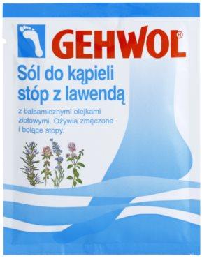 Gehwol Classic ревитализираща сол с розмарин за баня