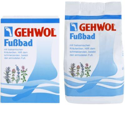 Gehwol Classic baie pentru dureri de gat si picioare obosite cu extract de plante 1