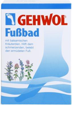Gehwol Classic baie pentru dureri de gat si picioare obosite cu extract de plante 2