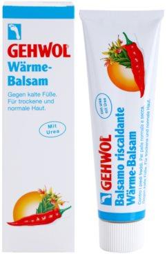 Gehwol Classic wärmendes Fußbalsam mit feuchtigkeitsspendender Wirkung für normale und trockene Haut 1