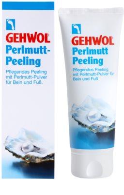 Gehwol Classic peeling pielęgnujący do stóp z proszkiem perłowym 1