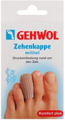 Gehwol Comfort Plus čepičkový návlek na prst při otlacích, kuřích okách a zarůstajících nehtech