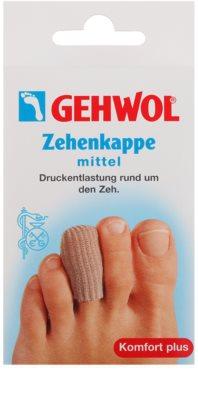Gehwol Comfort Plus захисний ковпачок на пальці при виникненні мозолів, проблем з краєм нігтя або подушечками пальців.