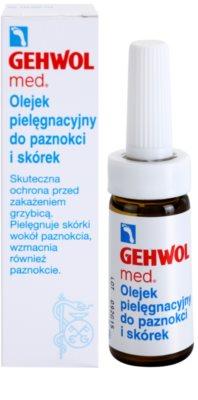 Gehwol Med захисна олійка проти мікозів для шкіри ніг та нігтів 1