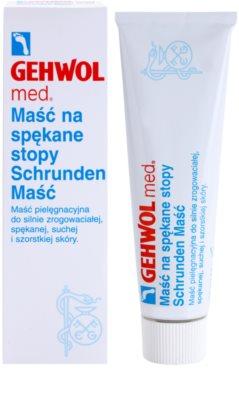 Gehwol Med pomada para pele calejada dos pés 1