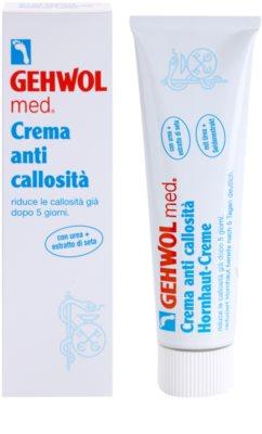 Gehwol Med crema intensiva antidurezas para piel agrietada 1