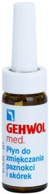 Gehwol Med bőrpuhító ápolás lábra a benőtt körömre és az erős bőrkeményedések ellen