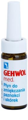 Gehwol Med tratamento de suavização para pés, unhas encravadas e pele áspera