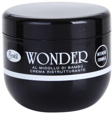 Gestil Wonder creme revitalizante para cabelos danificados e quimicamente tratados