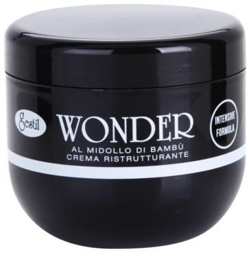 Gestil Wonder revitalizacijska krema za poškodovane in kemično obdelane lase