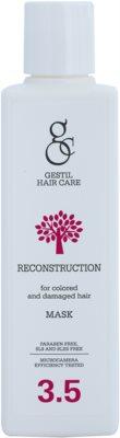 Gestil Reconstruction mascarilla reparadora   para cabello teñido y dañado