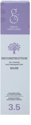 Gestil Reconstruction Belebende Maske für gefärbtes und geschädigtes Haar 1