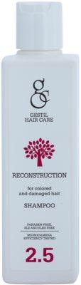 Gestil Reconstruction възстановяващ шампоан за боядисана и увредена коса