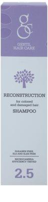 Gestil Reconstruction erneuerndes Shampoo für gefärbtes und geschädigtes Haar 2